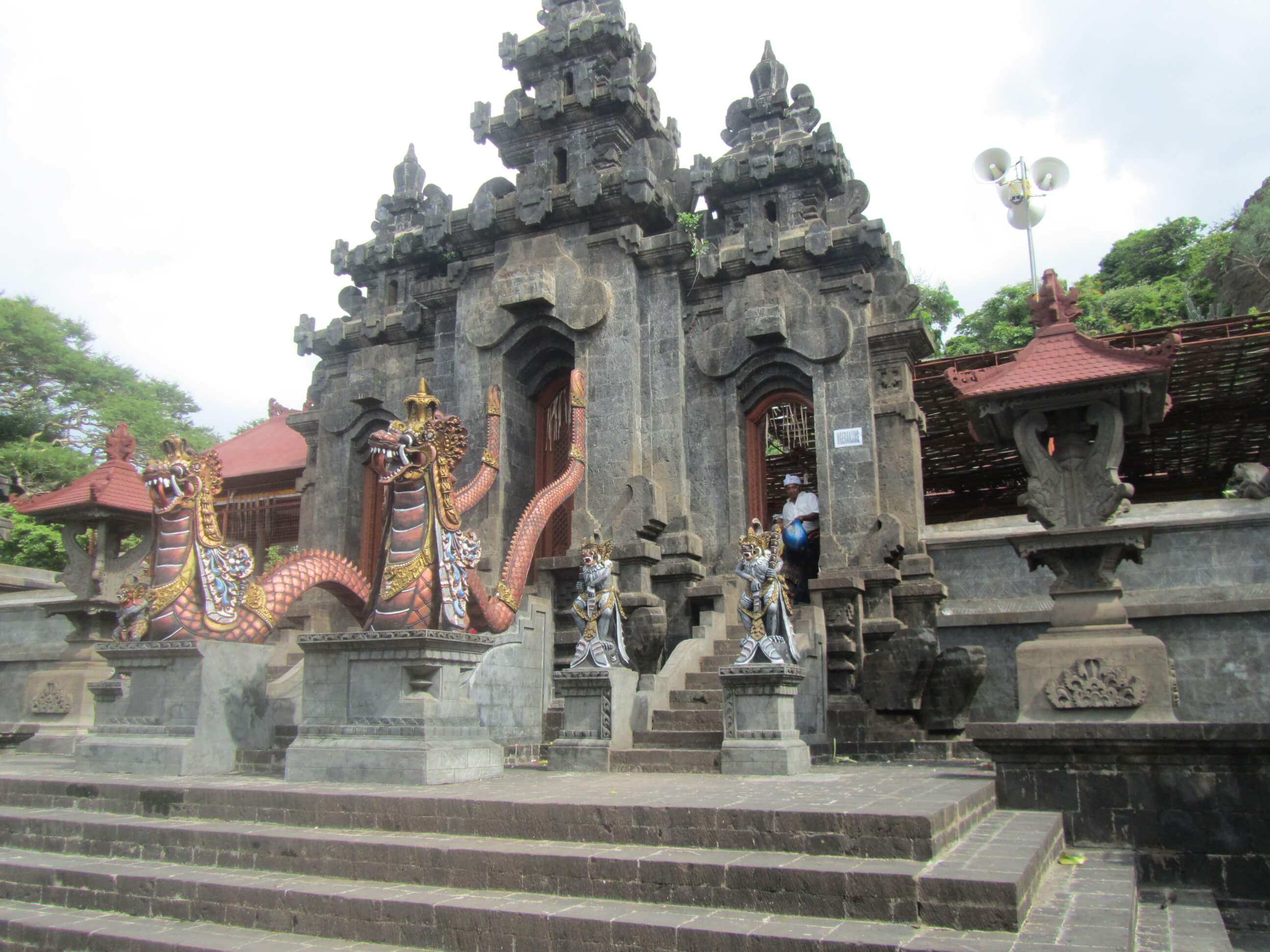 temple in the north of bali